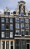 Typisch huis in Amsterdam Royalty-vrije Stock Fotografie