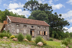 Typisch Huis Bento Goncalves Brazilië Royalty-vrije Stock Foto's