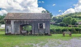 Typisch Huis Bento Goncalves Brazilië royalty-vrije stock fotografie