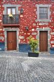Typisch huis in Gran Canaria royalty-vrije stock fotografie