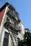 Typisch huis in New York Stock Afbeeldingen