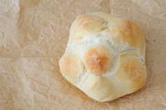 Typisch Italiaans brood, rosetta stock afbeelding