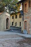 Typisch Italiaans dorp Royalty-vrije Stock Foto's