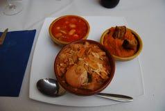 Typisch Kastiliaans voedsel Avila royalty-vrije stock afbeelding