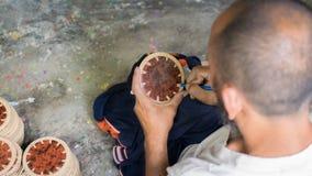 Typisch koopwaar lombok eiland stock afbeelding