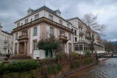 Typisch luxehuis in baden-Baden Stock Fotografie