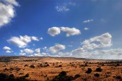 Typisch Mediterraan landschap Royalty-vrije Stock Afbeeldingen