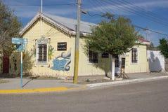 Typisch restaurant in Patagonië Stock Afbeeldingen
