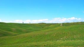Typisch Toscaans landschap stock videobeelden