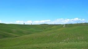 Typisch Toscaans landschap stock video