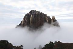 Typisch van huangshan berglandschap, schilderachtig als sprookjesland royalty-vrije stock foto's