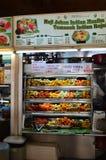 Typisch voedselhof, Tekka-Markt in Weinig India Singapore Royalty-vrije Stock Fotografie