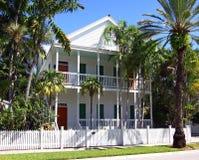Typisch zuidelijk huis. Stock Afbeelding