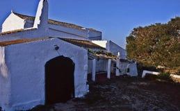 Typische 'lloc 'van Menorca stock afbeeldingen
