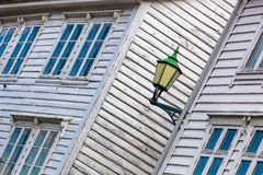 Typische alte Häuser in Bergen UNESCO-Welterbestätte, Norwegen Lizenzfreies Stockbild