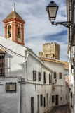Typische andalusische Straße Lizenzfreie Stockbilder