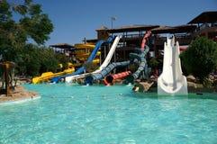 Typische Aqua Park royalty-vrije stock foto