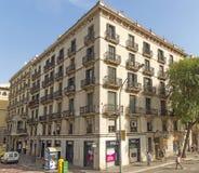 Typische architectuur van Barcelona Royalty-vrije Stock Foto