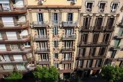 Typische Architektur in Barcelona stockfotos