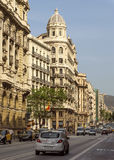 Typische Architektur von Barcelona Lizenzfreie Stockbilder