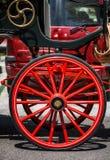 Typische auto Spaanse paarden Royalty-vrije Stock Fotografie