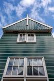 Typische bouw in Marken, Nederland royalty-vrije stock fotografie