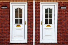 Typische britische Tür Stockfoto