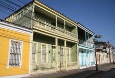 Typische Chileense architectuur Royalty-vrije Stock Afbeeldingen