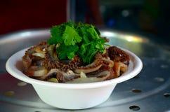 Typische chinesische Nahrung Stockfotos