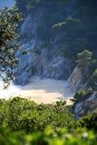 Typische Costa Brava Landschaft Lizenzfreie Stockbilder