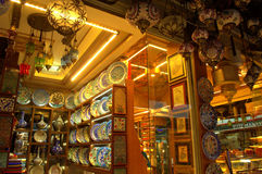 Typische de giftwinkel van Istanboel Stock Foto
