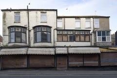 Typische englische Häuser stockfoto