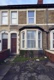 Typische englische Häuser stockbilder