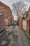 Typische englische Häuser stockbild