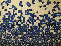 Typische Gaudi-achtergrond stock afbeeldingen