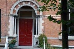 Typische Georgische deuropeningen in Dublin Royalty-vrije Stock Foto