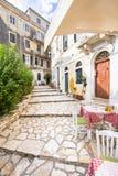 Typische Griekse taverna royalty-vrije stock foto's