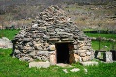 Typische herders` s hut Stock Foto