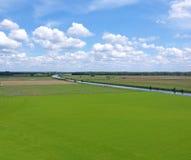Typische holländische Landschaft Stockbilder