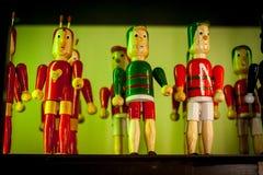 Typische Houten speelgoedchapulin Colorado Royalty-vrije Stock Afbeelding