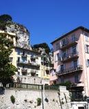 Typische huizen in Nice Stock Foto's