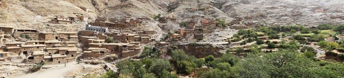 Typische Häuser des Marokkaners Stockfotografie