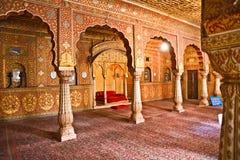 Typische Indische architectuur, India. royalty-vrije stock afbeeldingen