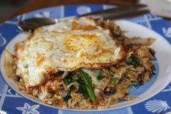 Typische Indonesische schotel: nasi goreng Royalty-vrije Stock Fotografie
