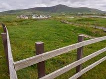 Typische irische Häuser Stockbilder