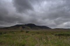 Typische isländische Landschaft lizenzfreies stockbild