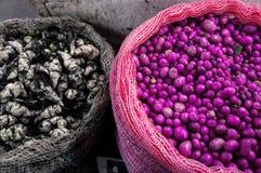 Typische kolumbianische Knollen lizenzfreies stockbild
