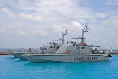 Typische Kustwacht Vessel Cutter Ship Stock Foto's