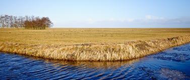 Typische Landlandschaft Stockfotos