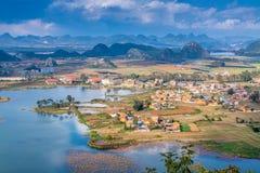 Typische Landschaft in China Lizenzfreies Stockfoto